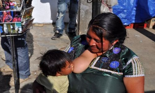 Zdjecie MEKSYK / Chiapas / San Juan Chamula / u Indian Tzotzil
