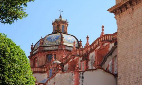 Zdjecie MEKSYK / - / Taxco / Taxco - katedra