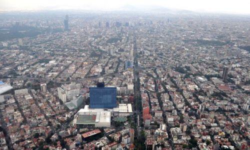 Zdjecie MEKSYK / - / Samolot / pożegnanie z Mexico City