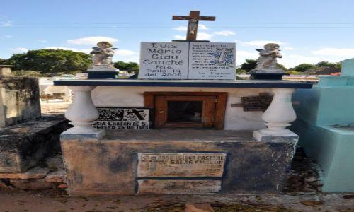 Zdjecie MEKSYK / - / Stan Chiapas / Cmentarz