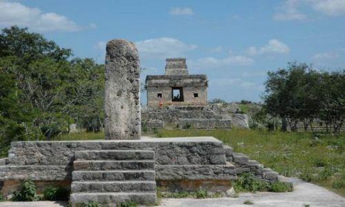 Zdjęcie MEKSYK / Yucatan / Dzibilchaltun / Ruiny Dzibilchaltun