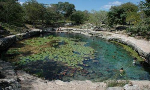Zdjęcie MEKSYK / Yucatan / Dzibilchaltun / Xlacah cenote Dzibilchaltun