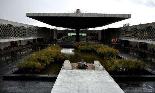 Zdjecie MEKSYK / - / MEXICO CITY  / MUZEUM ANTROPOLOGICZNE