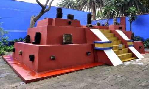 Zdjecie MEKSYK / - / Mexico City,  / W domu Fridy Khalo