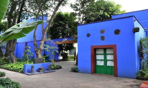 Zdjecie MEKSYK / - / Mexico City,  / W domu Fridy - La Casa Azul w Coyoacán