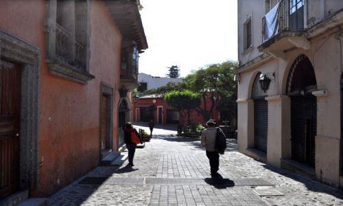 Zdjecie MEKSYK / - / Cuernavaca / Uliczki w Cuernavaca