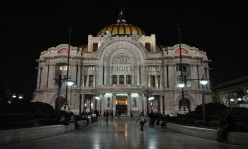 Zdjecie MEKSYK / - / MEXICO CITY / Mexico City, Pałac Sztuki