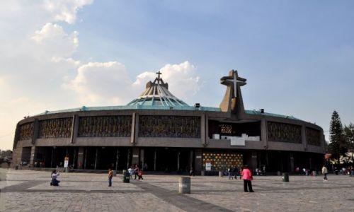 Zdjecie MEKSYK / - / Sanktuarium Matki Boskiej z Guadelupe / Mexico City
