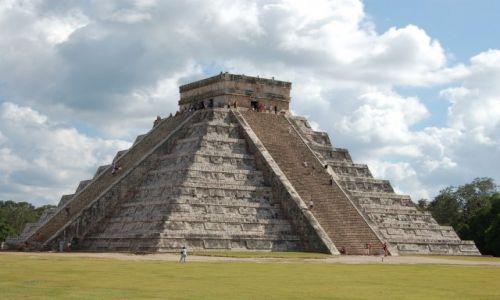 Zdjecie MEKSYK / Półwysep Jukatan / Chichen Itza / Piramida