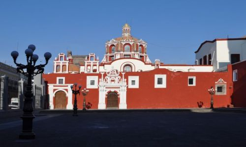 Zdjecie MEKSYK / - / Kościół San Francisco / Puebla