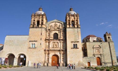 Zdjecie MEKSYK / - / Oaxaca / Kościół Santo Domingo