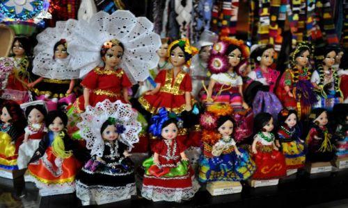 Zdjecie MEKSYK / - / Oaxaca / Na bazarze indiańskim