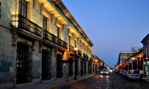 MEKSYK / - / Oaxaca / Ulice w Oaxaca