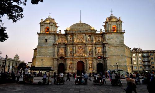 Zdjecie MEKSYK / - / Oaxaca / Katedra