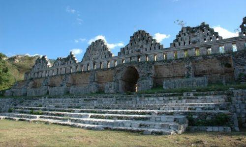 Zdjecie MEKSYK / Yucatan / Uxmal / Gołębnik
