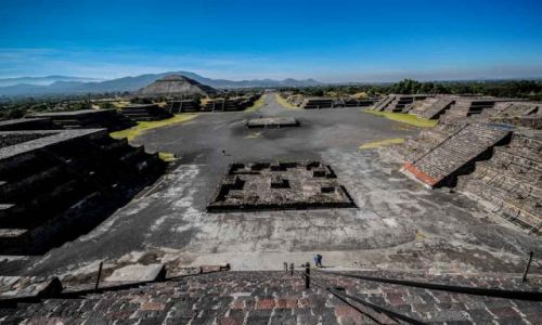 Zdjecie MEKSYK / Teotihuacan / Teotihuacan / Konkurs