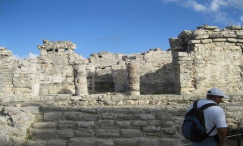 Zdjęcie MEKSYK / - / Meksyk / Ruiny miasta Tulum