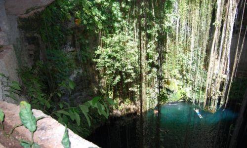 MEKSYK / półwysep Jukatan / Tulum / cenote Ik kil