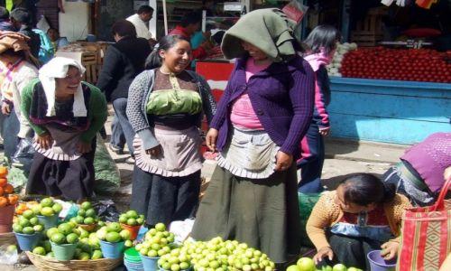 Zdjecie MEKSYK / Chiapas / San Cristobal de las Casas / przekupki