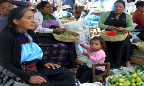 Zdjecie MEKSYK / Chiapas / San Cristobal de las Casas / spojrzenie