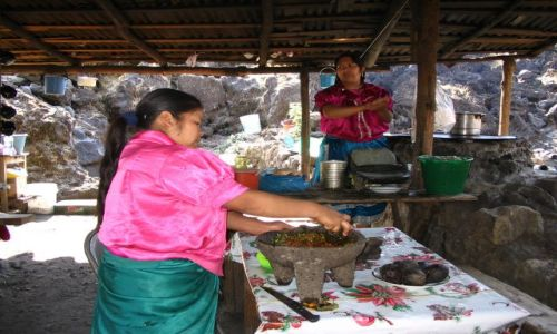 Zdjecie MEKSYK / brak / san juan paricutin / w kuchni