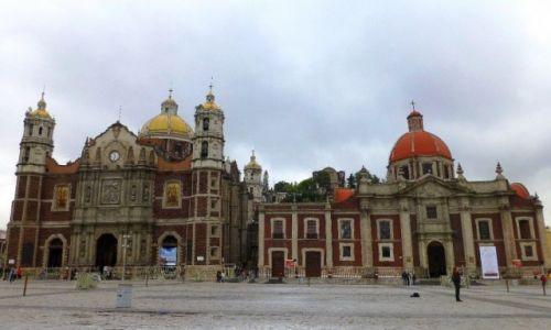 Zdjęcie MEKSYK / Mexico City / Sanktuarium Matki Boskiej z Gwadelupe / kościoły na wzgórzu Tepeyac