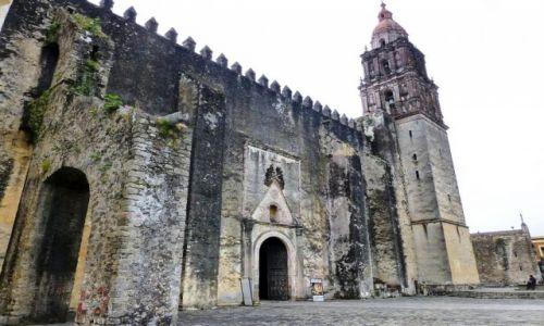 Zdjecie MEKSYK / Cuernavaca / Twierdza Klasztorna z Katedrą / Twierdza Klasztoru Wniebowzięcia NMP