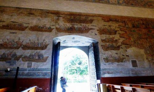 Zdjecie MEKSYK / Cuernavaca / Twierdza Klasztorna z Katedrą / unikatowe freski ze scenami przesladowań chrześcijan w Japonii
