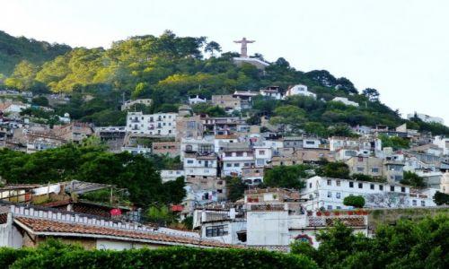 Zdjecie MEKSYK / Taxco / Taxco / posąg Chrystusa nad  Taxco - prawie jak w Rio