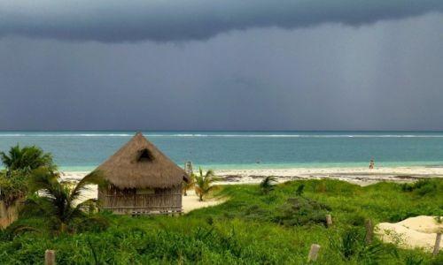 Zdjęcie MEKSYK / Quintana Roo / Puerto Morelos / pierwsze spojrzenie na Morze Karaibskie
