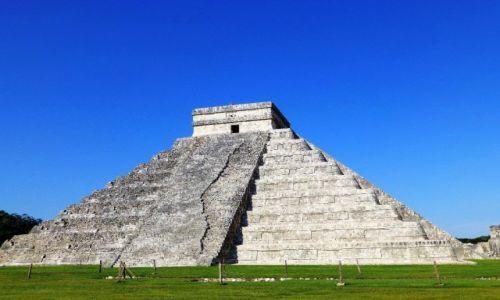 Zdjęcie MEKSYK / Jukatan / Chichen Itza / Piramida Kukulcana