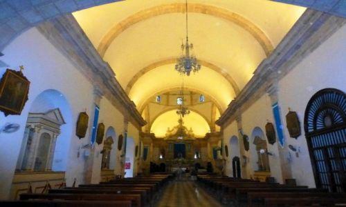 Zdjęcie MEKSYK / Jukatan  / Campeche / piękne wnętrze Katedry z 1545 roku