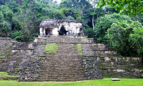 Zdjęcie MEKSYK / Chiapas / Palenque / Światynia Czaszek