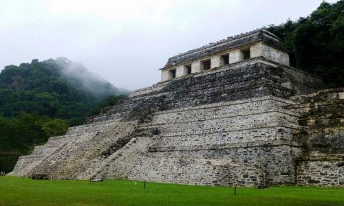 Zdjecie MEKSYK / Chiapas / Palenque / Światynia Inskrypcji