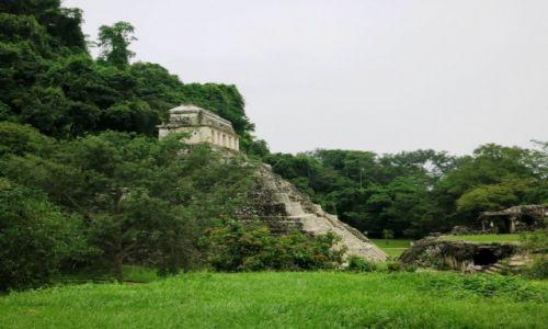 Zdjęcie MEKSYK / Chiapas / Palenque / otulona dżunglą
