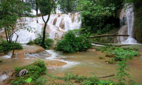 Zdjęcie MEKSYK / Chiapas / Aqua -Azul / kolejne zakątki wodospadów Aqua -azul