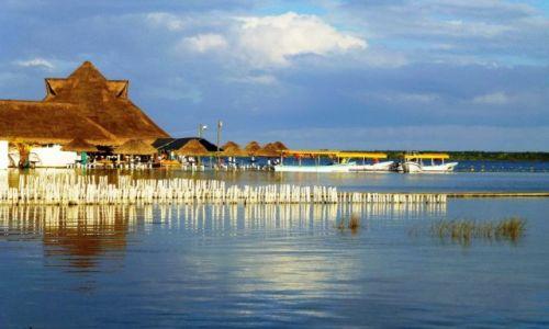 Zdjęcie MEKSYK / Quintana Roo / Laguna Bacalar / popołudnie nad Laguną Bacalar