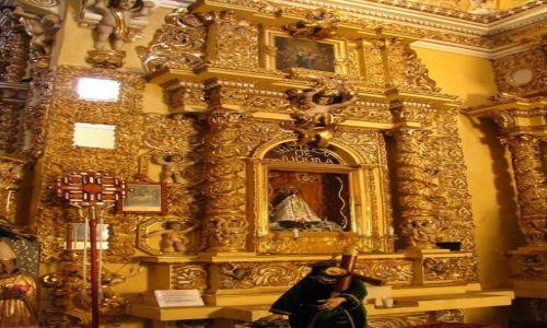 Zdjęcie MEKSYK / stan Puebla / San Francisco Acatepec / kościół św. Franciszka