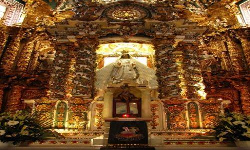 Zdjęcie MEKSYK / stan Puebla / Tonantzintla / Santa Maria de Tonantzintla