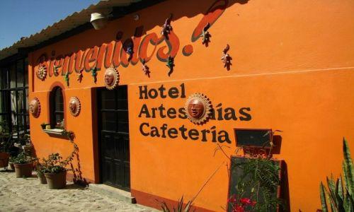 Zdjęcie MEKSYK / stan Puebla / Tonantzintla / Tonantzintla