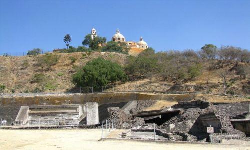 Zdjęcie MEKSYK / stan Puebla / Cholula / Wielka Piramida
