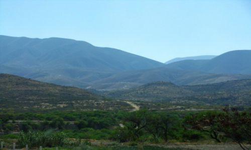 Zdjęcie MEKSYK / stan Oaxaca / Puebla - Oaxaca / Sierra Madre