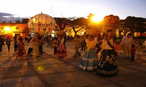 Zdjęcie MEKSYK / stan Oaxaca / Oaxaca / W oczekiwaniu na nowożeńców
