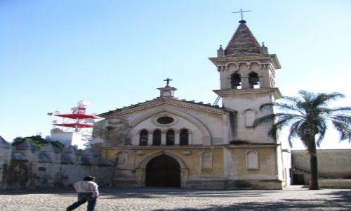 Zdjęcie MEKSYK / okolice Ciudad de Mexico / Cuernavaca / indiański kościółek
