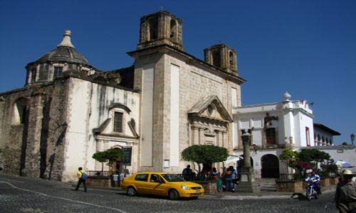 Zdjęcie MEKSYK / okolice Ciudad de Mexico / Taxco / ulice Taxco