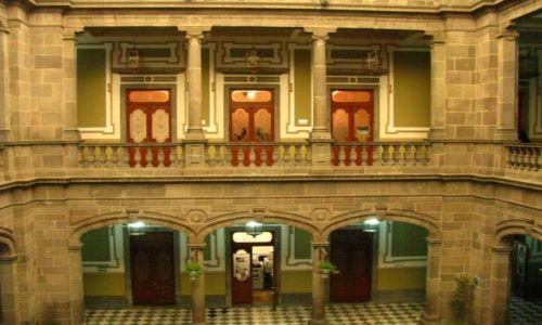Zdjęcie MEKSYK / stan Puebla / Puebla / budynek magistratu