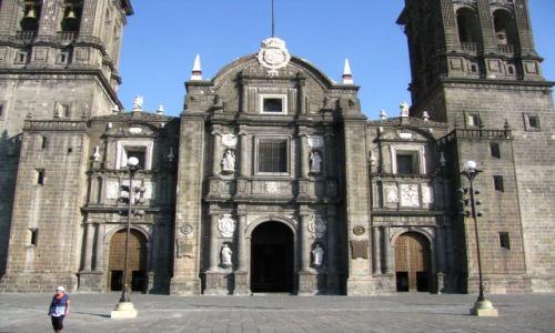 Zdjęcie MEKSYK / stan Puebla / Puebla / katedra