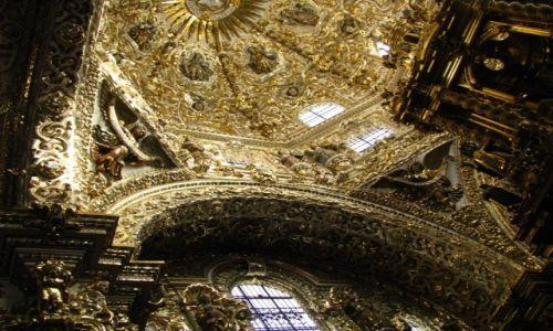 Zdjęcie MEKSYK / okolice Ciudad de Mexico / Puebla / kościół św. Dominika