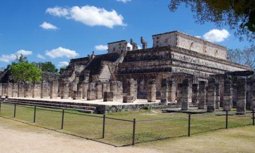 Zdjecie MEKSYK / Jukatan / Chichen Itza / Świątynia Wojowników