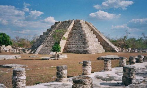Zdjęcie MEKSYK / Yucatan / Mayapan / Chichen Itza?
